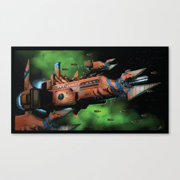 NGS Tiamat Canvas Print