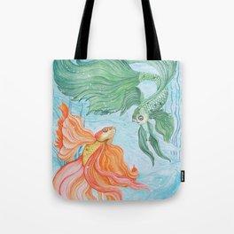 Betta Dance Tote Bag