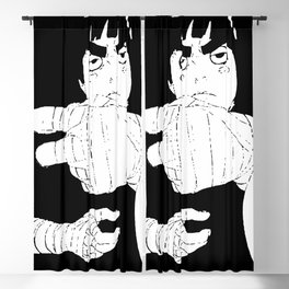 Rock Lee Drunken Fist v.4 Blackout Curtain