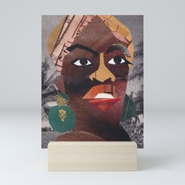 Nina Simone #PrideMonth Collage Portrait Mini Art Print