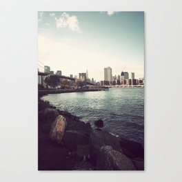 The Calm of the City Canvas Print