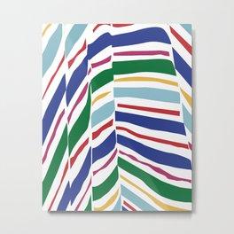 wrinkled fabric 2 Metal Print