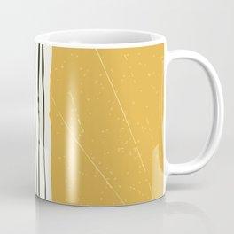 Gold Zebra Stripes Coffee Mug
