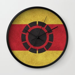 Iron Clade Colors Wall Clock