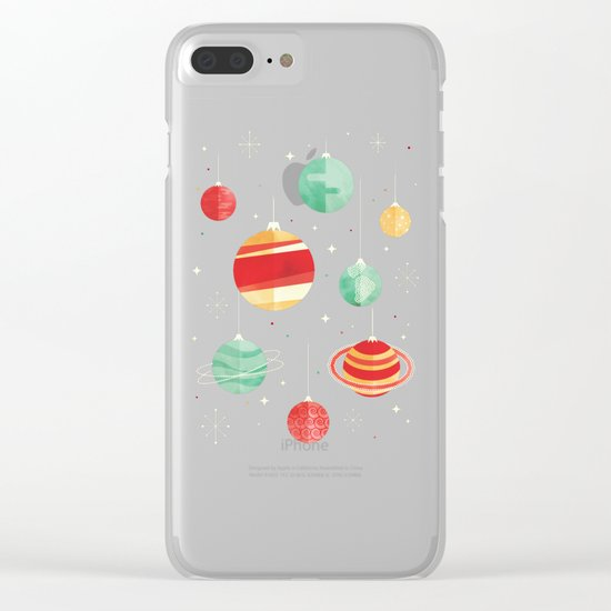 Joy to the Universe Clear iPhone Case