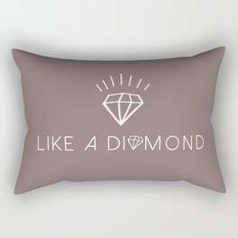 Like a diamond Rectangular Pillow