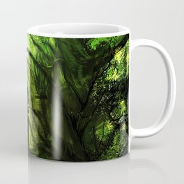 Tardis in the forest Coffee Mug