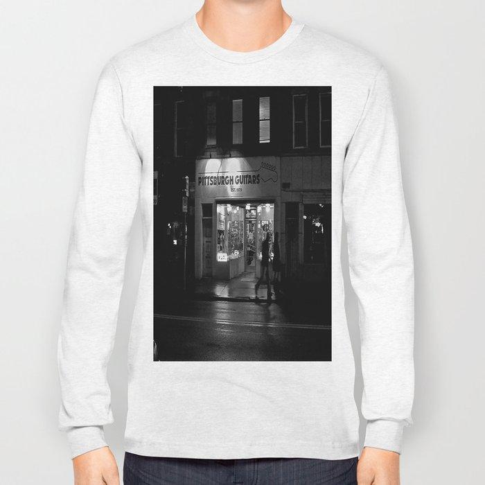 Walking By Guitars Long Sleeve T-shirt