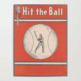 Vintage Baseball Magazine Cover Illustration (1921) Poster