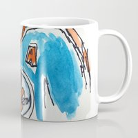 hockey Mugs featuring Hockey by short stories gallery