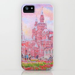 The Cathedral of Kazan Mother of God on Red Square iPhone Case