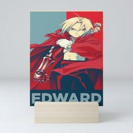 Edward Elric Fullmetal Alchemist Brotherhood Mini Art Print