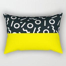 Memphis pattern 51 Rectangular Pillow