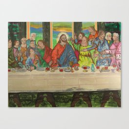 La Ultima Cena Canvas Print