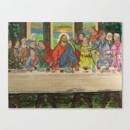 La Ultima Cena Canvas Print