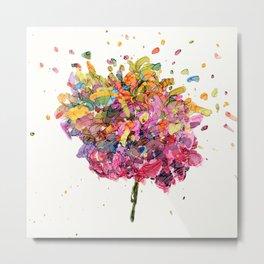 Flower Symphony-Rainbow Metal Print