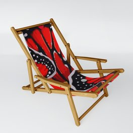 red monarch Sling Chair