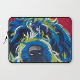 Blue Dog Wirehaired Griffon Laptop Sleeve