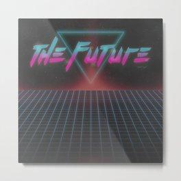 The Future Metal Print