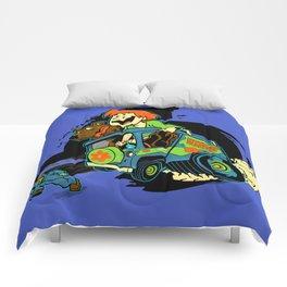 Rat Fink Sc00by D00 Comforters