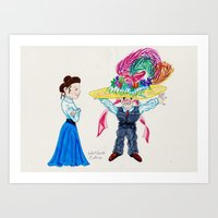 What is the Weight of this Thing? Art Print