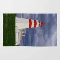lighthouse Area & Throw Rugs featuring Lighthouse by Ellyne