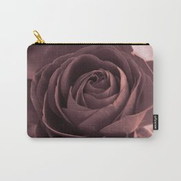 Romantic rose(purple grey). Carry-All Pouch