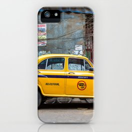 Taxi India iPhone Case