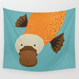Whimsy Platypus Wall Tapestry