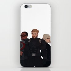 Team Cap iPhone Skin