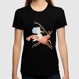 The Magnificent Shrimp Rider T-shirt