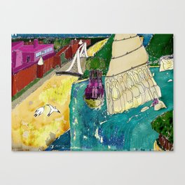 Tourism of the future Canvas Print