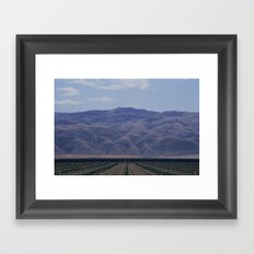 You Will Move Mountains Framed Art Print