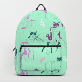 Jazz cats Backpack