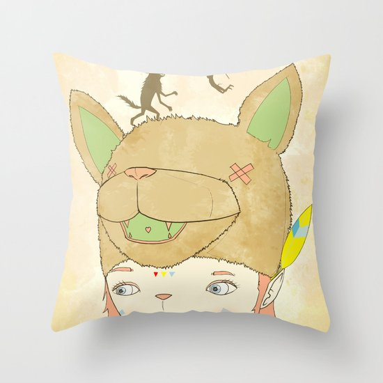 왕좌의 귀환 : RETURN OF THE THRONE Throw Pillow