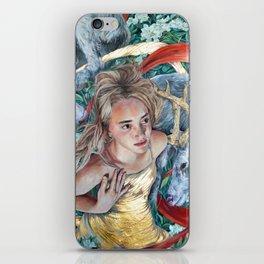 The Awakening, Goddess Artemis with Deer iPhone Skin