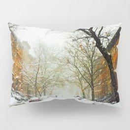 NYC @ Snow Time Pillow Sham