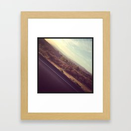 On The Road, Again Framed Art Print