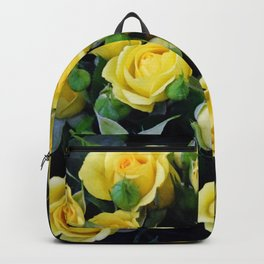 Bright Yellow Roses Backpack