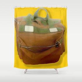 Happy Bag Shower Curtain