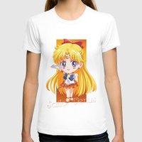 sailor venus T-shirts featuring Chibi Sailor Venus by Neo Crystal Tokyo