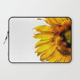 Simply a sunflower Laptop Sleeve