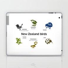 New Zealand Birds Laptop & iPad Skin