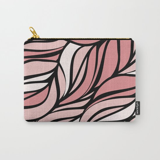 Coral seawing Carry-All Pouch