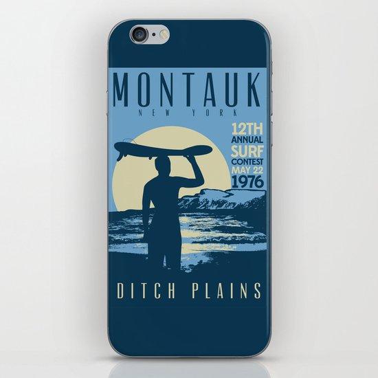 Montauk Ditch Plains Retro Vintage Surf by retroprints
