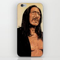 danny haas iPhone & iPod Skins featuring Danny Trejo by Giuseppe Cristiano