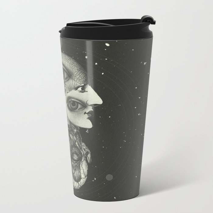 COSMIC ANATOMY  Metal Travel Mug