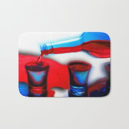 The Drink That Kills You Ode To Addiction Bath Mat