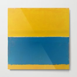 Untitled (Yellow and Blue) by Mark Rothko HD Metal Print