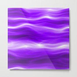 Violet energy Metal Print